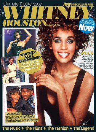 Whitney Houston - Now Special Series digital cover