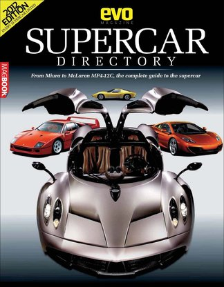 Evo Supercars Directory digital cover