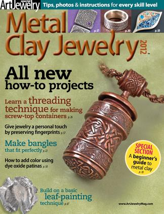 Metal Clay Jewelry digital cover