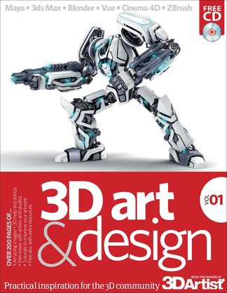 The 3D Art & Design Book digital cover