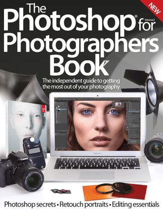 Photoshop for Photographers Book digital cover