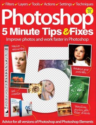 Photoshop Five Minute Tips & Fixes Vol 1 digital cover