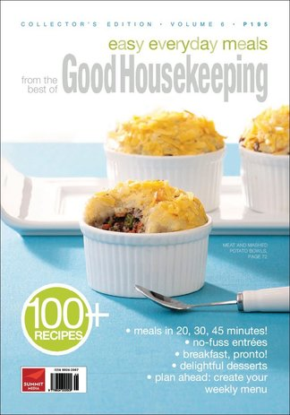Good Housekeeping Easy Everyday Meals Volume 6 digital cover