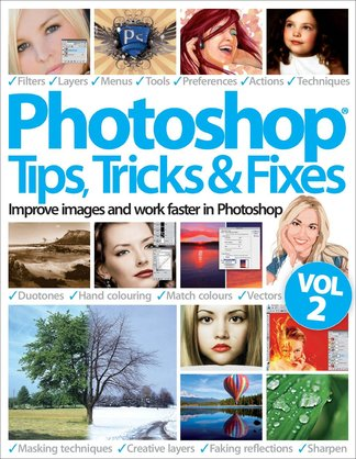 Photoshop Tips, Tricks & Fixes Vol 2 digital cover