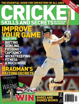 Cricket Skills and Secrets digital cover