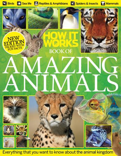 How It Works Book of Amazing Animals digital cover