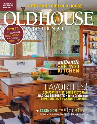 Old House Journal digital cover