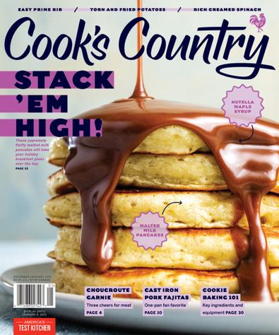 Cook's Country digital cover