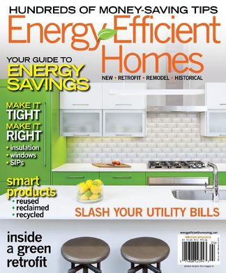 Energy Efficient Homes digital cover