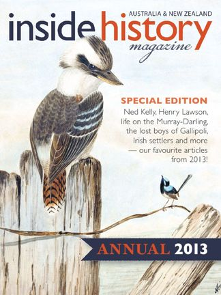Inside History - Annual digital cover