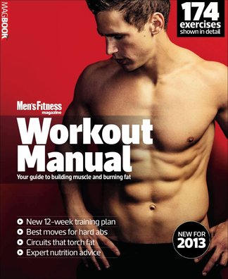 Mens Fitness Workout Manual 2013 digital cover