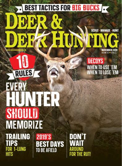 Deer & Deer Hunting digital cover