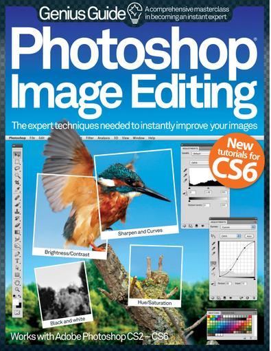 Photoshop Image Editing Genius Guide digital cover