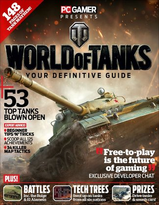 PC Gamer Presents World of Tanks digital cover