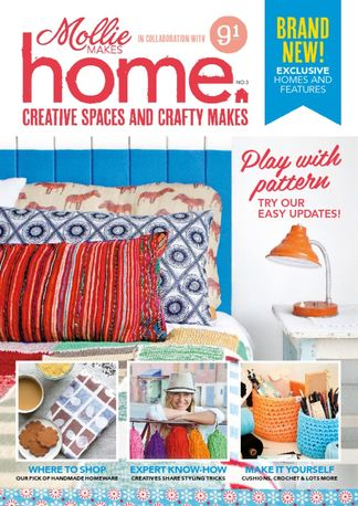 Mollie Makes Home digital cover