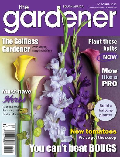 The Gardener Magazine digital cover