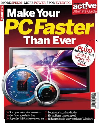 Computer Active Make Your PC Faster Than Ever digital cover