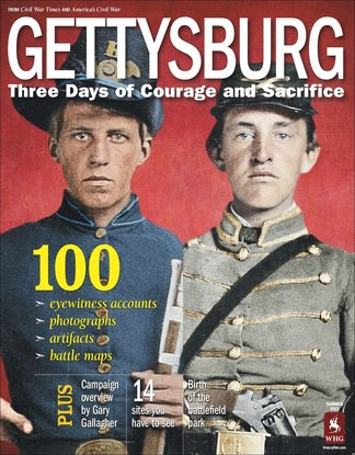 Gettysburg: Three Days of Courage and Sacrifice digital cover