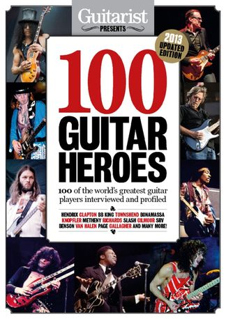 Guitarist Presents - 100 Guitar Heroes digital cover