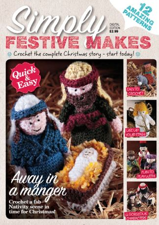 Crochet Nativity digital cover