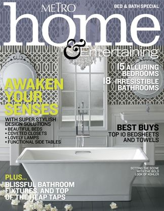 Metro Home's Bed and Bath Special Issue digital cover