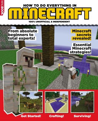 HOW TO DO EVERYTHING IN MINECRAFT digital cover