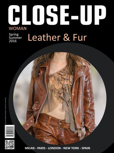 Close-Up Woman Leather&Fur digital cover