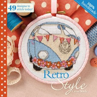 Retro Style Cross Stitch digital cover