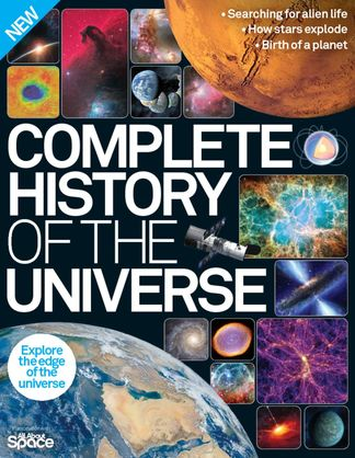 Complete History of the Universe digital cover