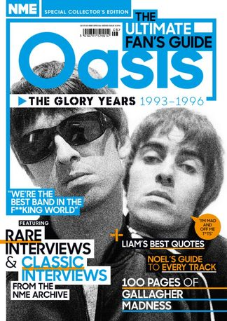 NME Special Collectors' Magazine - Oasis digital cover