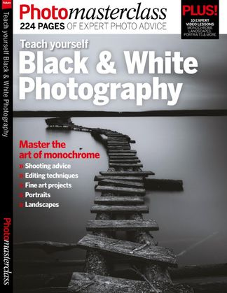 Teach yourself Black & White Photography digital cover