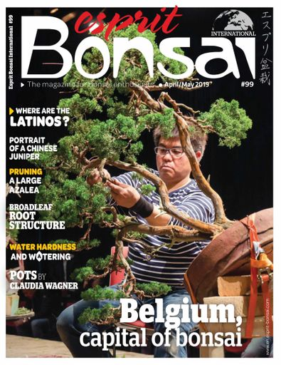Esprit Bonsai International digital cover