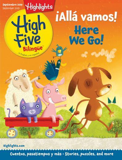 Highlights High Five Bilingue digital cover