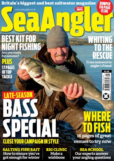 Sea Angler digital cover