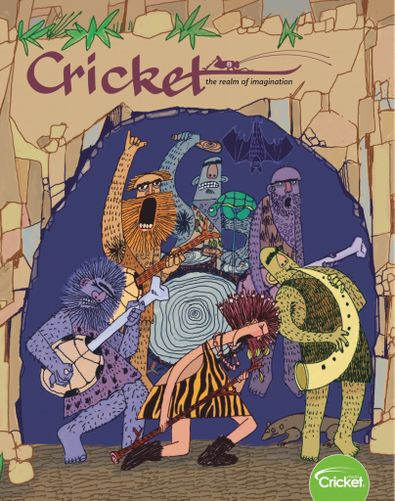 Cricket Magazine Fiction and Non-Fiction Stories f digital cover