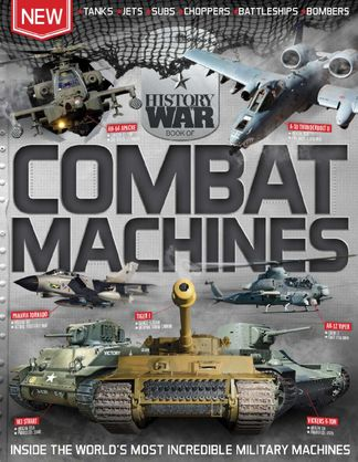 History of War Book of Combat Machines digital cover