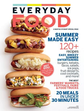Martha Stewart Living Everyday Food digital cover
