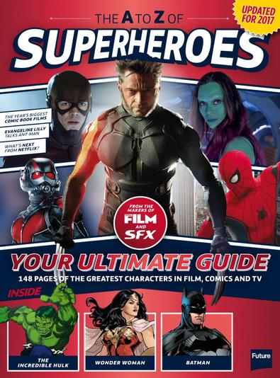 The A To Z Of Superheroes digital cover