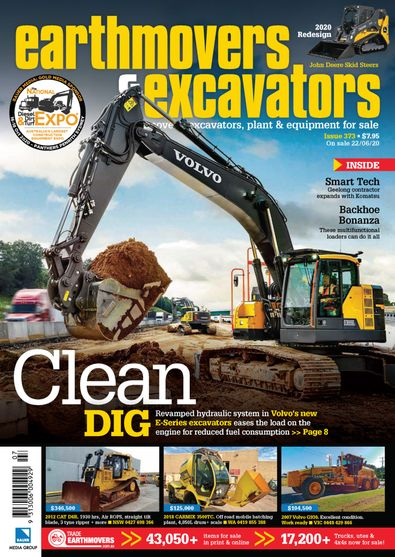 Earthmovers & Excavators digital cover