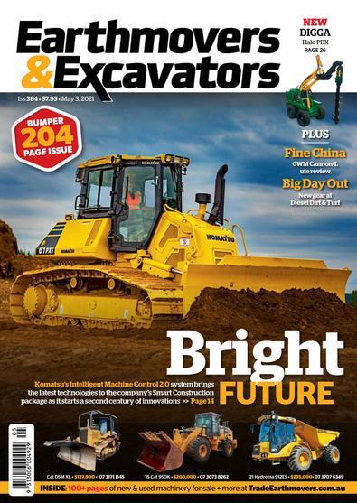 Earthmovers & Excavators digital cover