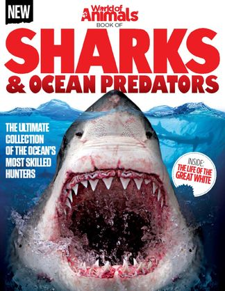 World of Animals Book of Sharks & Ocean Predators digital cover
