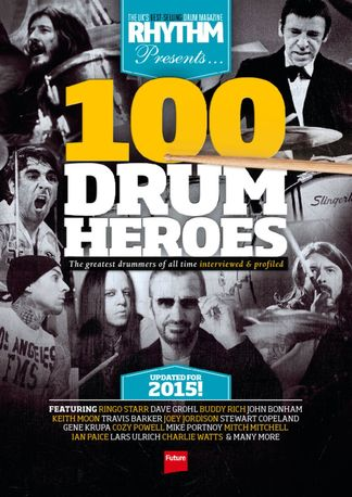 Rhythm Presents 100 Drum Heroes digital cover