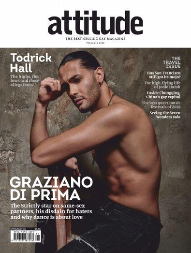 Attitude Magazine digital cover