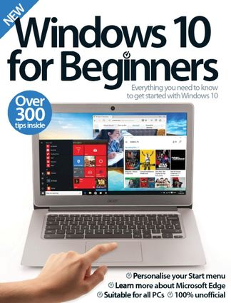 Windows 10 For Beginners digital cover