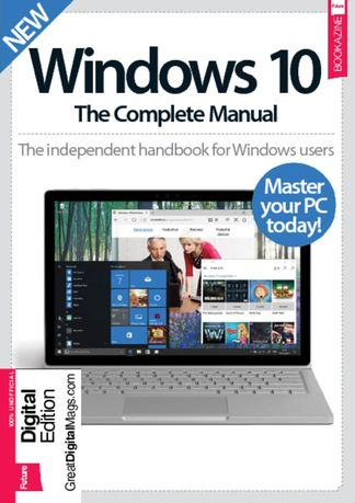 Windows 10 The Complete Manual digital cover
