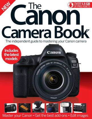 The Canon Camera Book digital cover