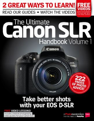 Ultimate Canon SLR Handbook Vol. 1 digital cover