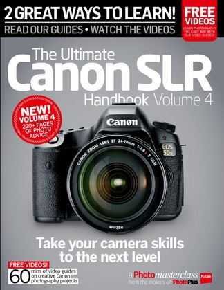 Ultimate Canon SLR Handbook Vol. 3 digital cover