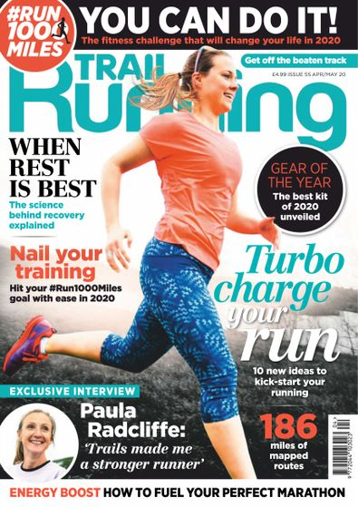 Trail Running digital cover