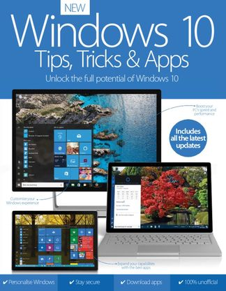 Windows 10 Tips, Tricks & Apps digital cover